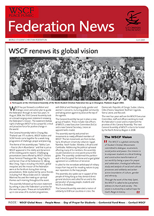 WSCF Federation News 2005 Jul