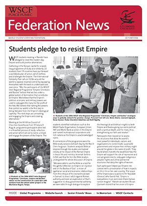 WSCF Federation News 2006 Oct