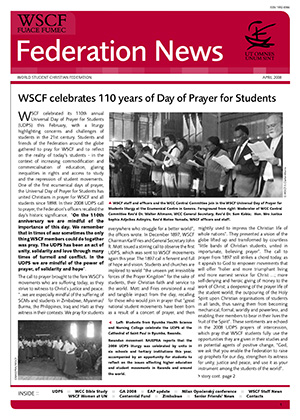WSCF Federation News 2008 Apr