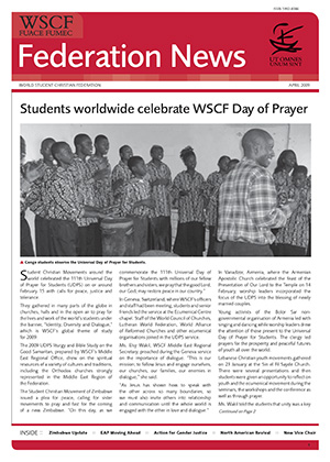WSCF Federation News 2009 Apr