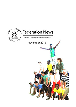 WSCF Federation News 2012 Nov